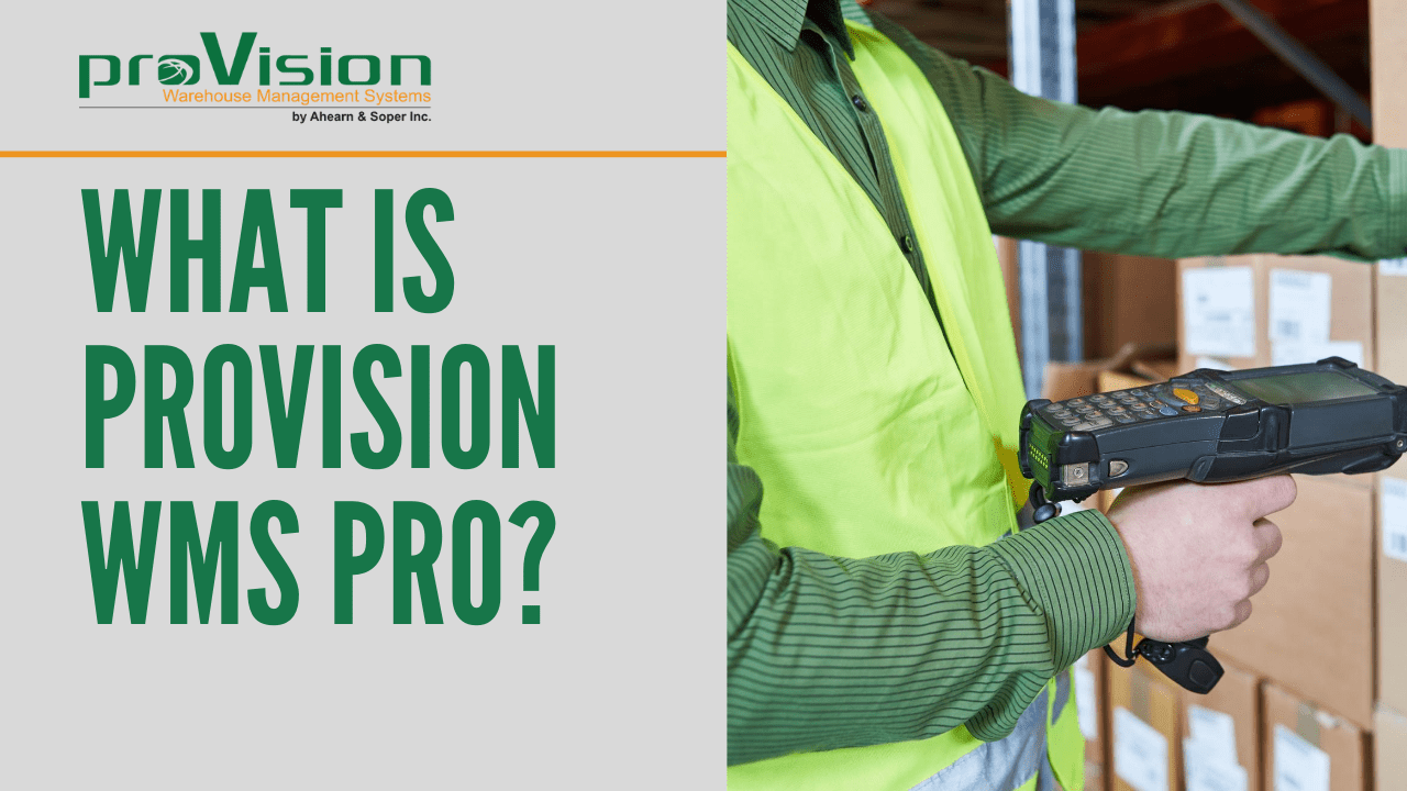 What is ProVision WMS Pro?